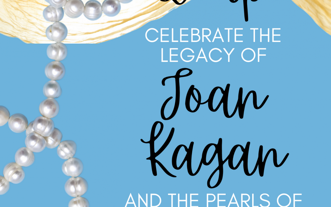 Save the Date to Celebrate Joan Kagan's Retirement